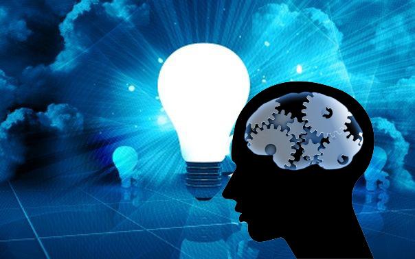 Ampoule + tête pensante