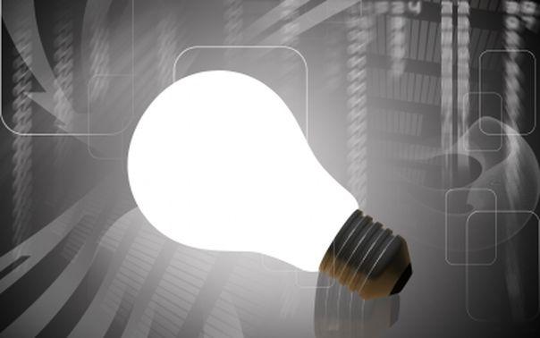 une ampoule pour représenter une idée