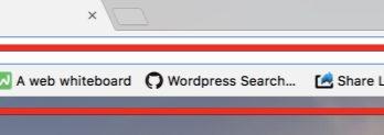 Comment avoir une barre de favoris qui a du style dans Chrome