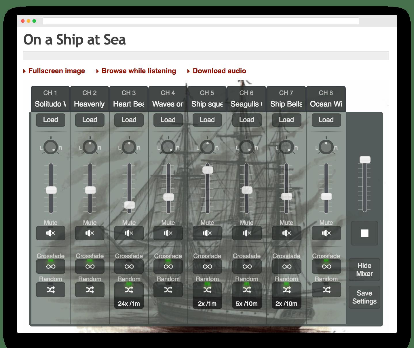 Ambient Mixer créer dans ambiances sonores pour être plus concentré et
