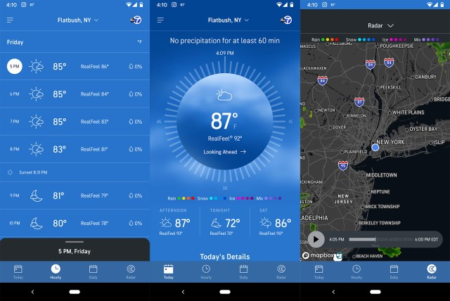 accuweather pour android