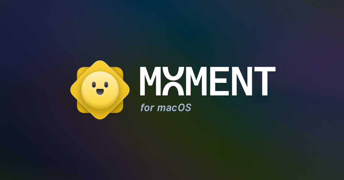 moment l'application qui organise ta vie sur macOS