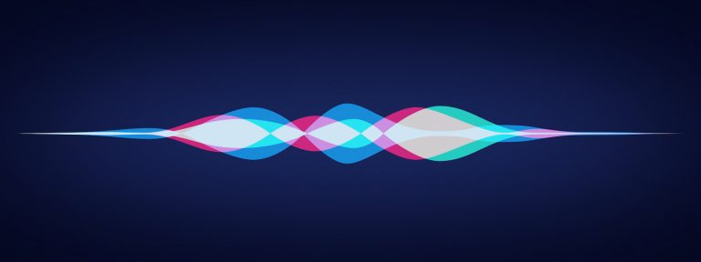 Ondes vocales logo Siri