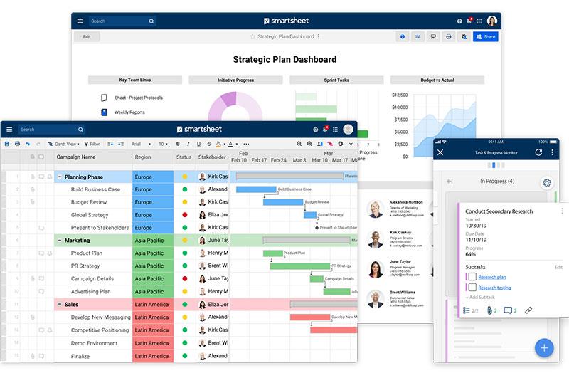 meilleurs applis de Kanban pour gérer ses projets-smartsheet