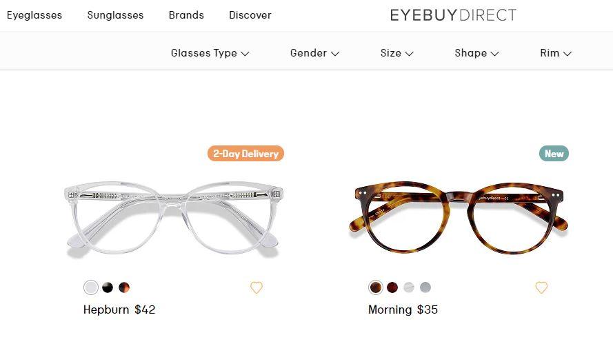 eyebuydirect acheter ses lunettes en ligne