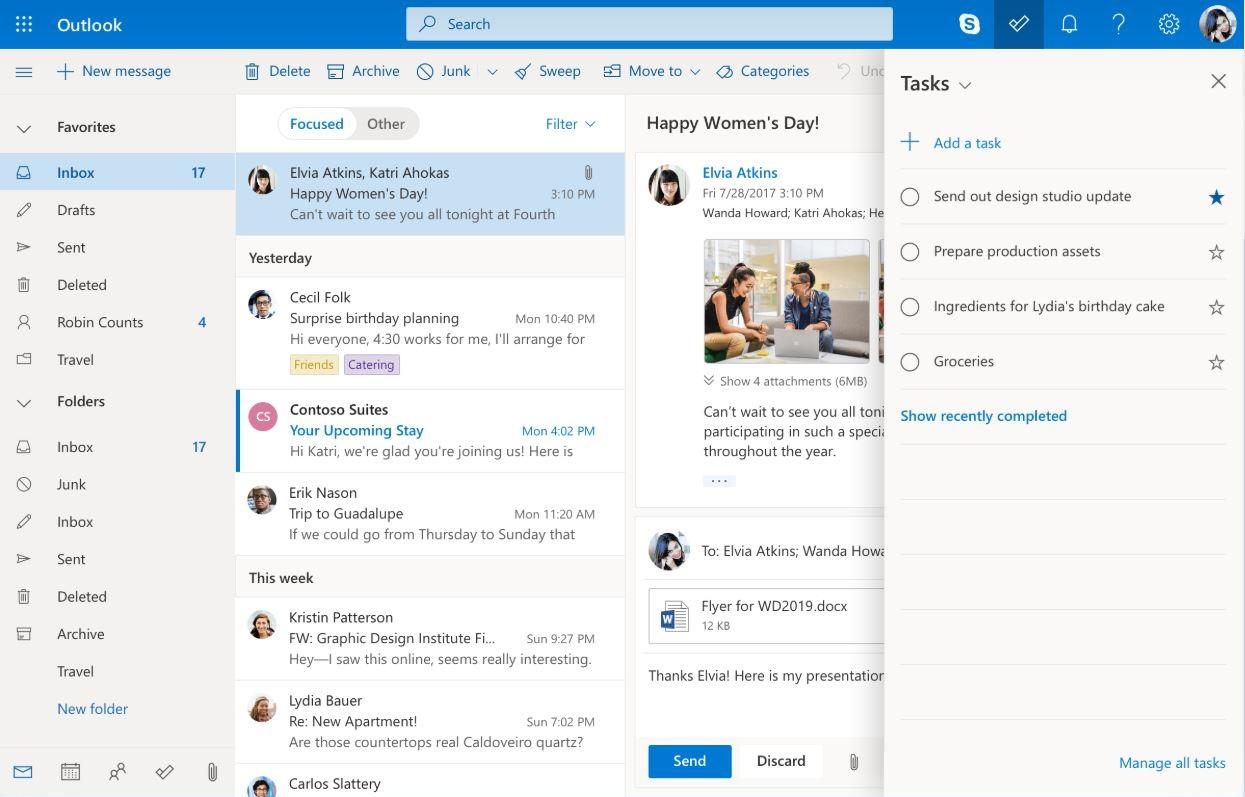 Outlook la solution de messagerie électronique